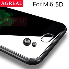 Buy 5D Full Cover Tempered Glass for Xiaomi Mi6 9H 0.26MM 4D Curved Edge Screen Protector Film For Xiaomi Mi 6 for Xiaomi 6  3D glas ....click link to buy....  #iphone #iphone8 #iphone7