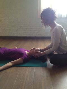 Learn this simple, nervous-system-soothing assist. 8 assists for savasana