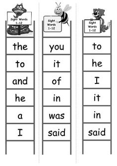 and  Pinterest Activities Sight on  Words, Sight sight  work  word activities Sight  word Word pinterest