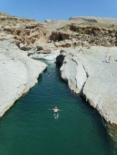 Take a swim in Wadi Bani Khalid