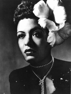 "Miss Billie Holiday was born Eleanora Fagan on April 1915 in Philadelphia PA. Her friend and musical partner Lester Young, nicknamed her ""Lady Day"". Best known for her music influence on Jazz and Pop singing, Billie Holiday also co-wrote…Read more › Divas, Vintage Black Glamour, Vintage Vogue, Vintage Beauty, Lord Alfred Douglas, Lady Sings The Blues, Jazz Musicians, Jazz Blues, The Villain"