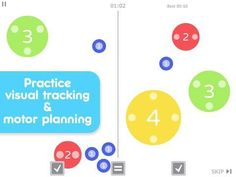 Dexteria Dots 2 - Fine Motor Skills and Math Concepts - 2 mini-games for math concepts and motor skills practice. Educational Apps For Kids, Motor Planning, News Apps, Math Concepts, Mini Games, Fine Motor Skills, Homeschool, Dots, Learning