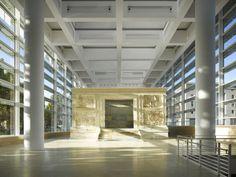 Ara Pacis museum, Rome, designed by Richard Meier.