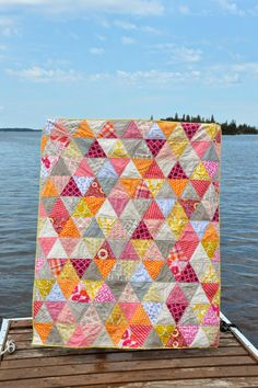 ocd: obsessive crafting disorder: a pile of finished quilts for the cottage