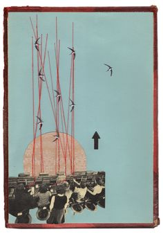 """Rhed Fawell - Collage 2016 - """"Wires Crossed"""""""