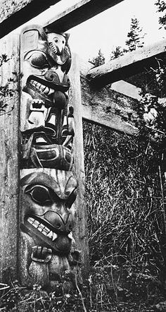 Haida Gwaii, Haida Art, Tlingit, Native Design, Totem Poles, Indigenous Art, Native Art, First Nations, Historical Photos