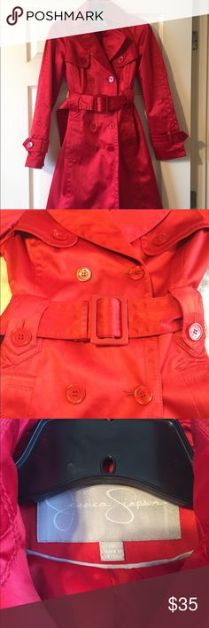 STILE Benetton Red trench coat | Red trench coat, Benetton and Trench