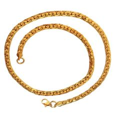 Jewels By Lux 14K White and Yellow Gold Two Tone Lobster Claw Clasp Figaro White Pave Chain Necklace