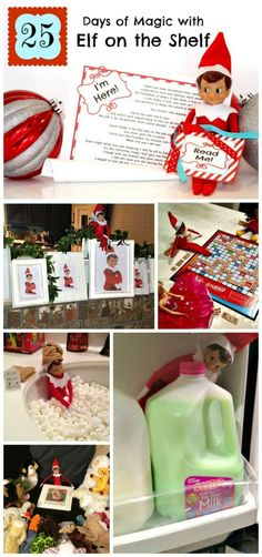 25 Days of Ideas with Elf on the Shelf by louise