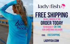 womens fishing shirt, I want one for christmas! www.ladyfish.com