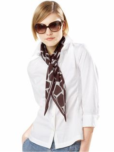 76d561c18ab Women s Apparel Giraffe print scarf new arrivals Banana Republic - Stylehive