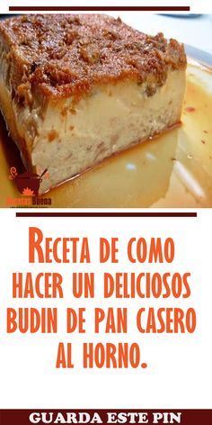 Cuban Desserts, Spanish Desserts, Desert Recipes, Mexican Food Recipes, Delicious Desserts, Pudding Pans, Pudding Recipes, Cake Recipes, Puddings