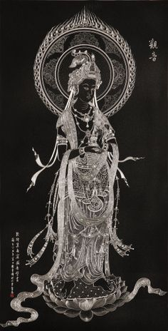 Guan Yin by ChineseSculpture on Etsy, $10000.00