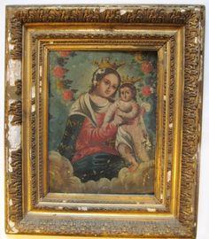 18th Century Retablo Painting