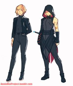 """// """"It looks like an alternative outfit for Black Widow."""" To quote my brother. Dnd Characters, Fantasy Characters, Female Characters, Character Creation, Character Concept, Concept Art, Disfraz Star Wars, Oc Manga, Arte Fashion"""