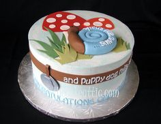 Snips and snails and puppy dog tails  Cake by thecakeattic