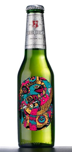 The famous Somerville Beck's bottle.