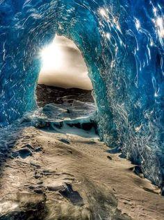 Glacier Cave-Alaska