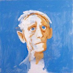 Victor Willing (1928-1988) – Self Portrait at 70 (1987) Pallant House Gallery