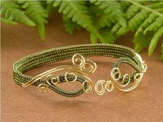 Collection of soumak wire weaving jewelry tutorials including the basics