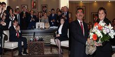Fatma Güldemet Sarı, Çevre ve Şehircilik Bakanlığı'nda düzenlenen devir teslim töreni ile görevi İdr...