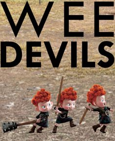 Are your siblings a handful too? #brave