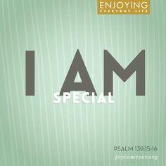 I am special.