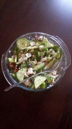 greek salad- griechischer Salat #lowcarb