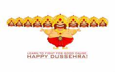 Dussehra HD Wallpaper 2014  Dussehra, Dassera, Vijaya Dashami, Ravan Dahan, 2013, HD, Images, Wallpapers, Wishes, Durga Maa, Greetings