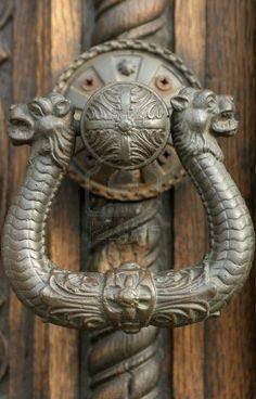 I've always had a fine taste in doorknobs.