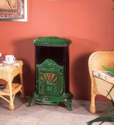 Parisienne multi fuel stove From Franco Belge