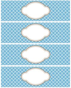 Different Quatrefoil Labels