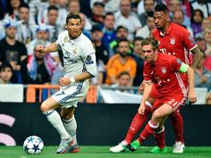 Ch-L 16/17: Rückspiel VF: Real Madrid - B. München 4:2 n.V.- Ronaldo trifft zweimal- das Aus für bayern nach großem Kampf