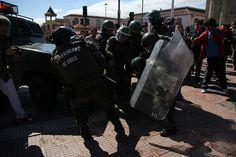 Denuncian desproporcionado actuar policial en marcha de Secundarios   El Observatodo.cl, Noticias de La Serena y Coquimbo
