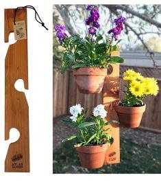 Building A Clay Pot Hanger Garden Flower Ideas Clay