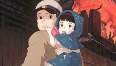 Omg this is literally the saddest Studio Ghibli movie ever. Hayao Miyazaki, Hotaru No Haka, Studio Ghibli Films, Mad Movies, Grave Of The Fireflies, Happy 30th Birthday, My Neighbor Totoro, Animation, Anime Manga