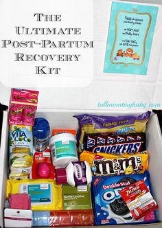 Ultimate Postpartum Post Partum Recovery Kit Awesome Ideas For New Moms Or To Be This Would A Great Thing Put Together Pregnant Friend