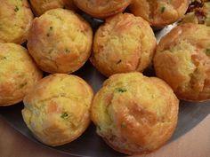 Muffins saumon fumé/ciboulette Plus