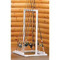 PVC Fishing Rod HolderAn easy way to keep fishing and fly rods handy and neat. - FORMUFIT.com
