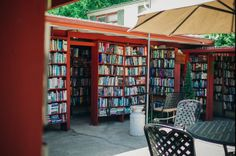California, USA Founded in 1964, Bart's Books is a beautiful outdoor bookstore where you can sip lemonade in the courtyard surrounded by a maze of bookshelves, play a game of chess in the shade or read a short story under the apple tree.