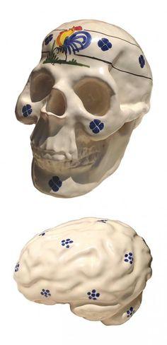 Michele Giangrande Vanitas Vanitatum, Contemporary Art, Skull, Skulls, Modern Art, Sugar Skull, Contemporary Artwork