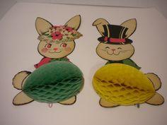 Vintage - Easter Bunnies