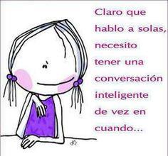 Hablando sola