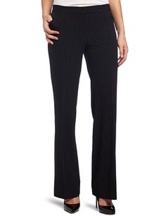 Anne Klein Women's Pinstripe Pant (a favorite repin of VIP Fashion Australia - www.VIPFashionAustralia.com - international clothing store )