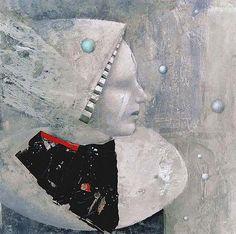 noma bliss art original abstract acrylic mixed media paintings | COLLABORATIVE ART