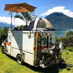 Man Buys Old Ambulance On eBay And Transforms It Into Small Mobile Home To Travel The World