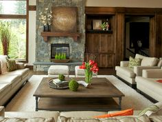 Simple Large Doube Coffee Table Hardwood Floors, Flooring, Dark Hardwood, Large Coffee Tables, Living Room Designs, Living Rooms, Decoration, Custom Homes, Luxury Homes
