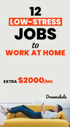 Online Jobs From Home, Work From Home Jobs, Stress Free Jobs, Best Part Time Jobs, Online Job Opportunities, Home Based Work, Earn Extra Money Online, Freelance Writing Jobs, Easy Jobs