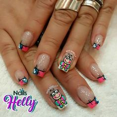 Manicure Y Pedicure, Hair And Nails, Nail Art, Erika, Triangles, Mary, Beauty, Safe Room, Flower