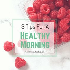 3 Tips for a Healthy Morning + 3 Quick Breakfast Ideas with Great Grains {video}…